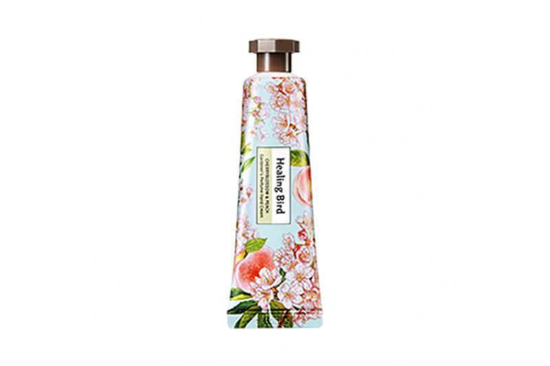HEALING BIRD Gardener's Perfume Kézkrém - Cseresznyevirág és Őszibarack 30ml