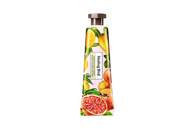 HEALING BIRD Gardener's Perfume Kézkrém - Grapefruit és Mangó 30ml