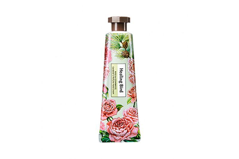 HEALING BIRD Gardener's Perfume Kézkrém - Rózsa és Cédrusfa 30ml