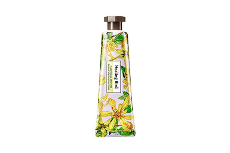 HEALING BIRD Gardener's Perfume Kézkrém - Ylang Ylang és Zöld Tea 30ml