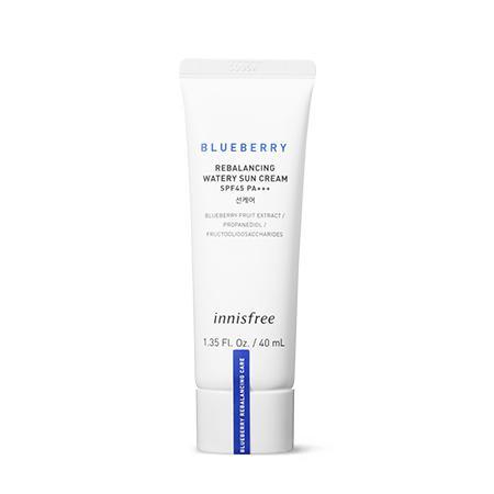 INNISFREE Blueberry Rebalancing Watery Fényvédő Krém 40ml SPF45 PA+++