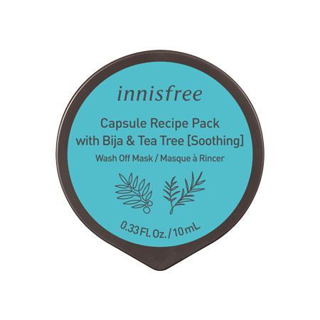 INNISFREE Capsule Recipe Pack Arcmaszk - Bija és Tea Tree 10ml