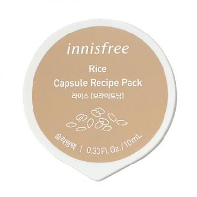 INNISFREE Capsule Recipe Pack Arcmaszk - Rizs 10ml