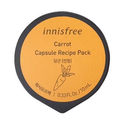 INNISFREE Capsule Recipe Pack Arcmaszk - Sárgarépa 10ml