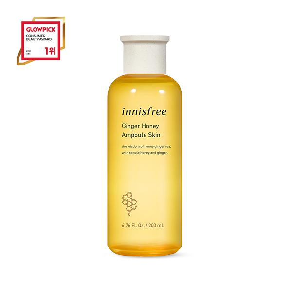 INNISFREE Ginger Honey Ampoule Hidratáló Arctonik (Skin) 200ml