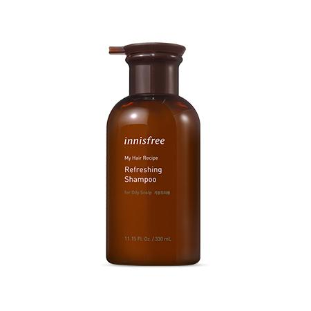 INNISFREE My Hair Recipe Refreshing Sampon (zsíros fejbőrre) 330ml