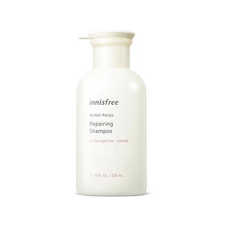 INNISFREE My Hair Recipe Repairing Sampon (sérült hajra) 330ml