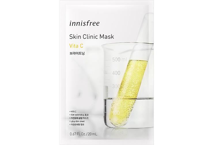INNISFREE Skin Clinic Arcmaszk - C-Vitamin (Világosító) 20ml