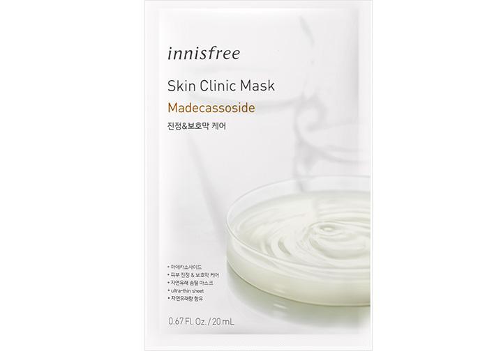 INNISFREE Skin Clinic Arcmaszk - Madecassoside (Nyugtató és Ápoló) 20ml