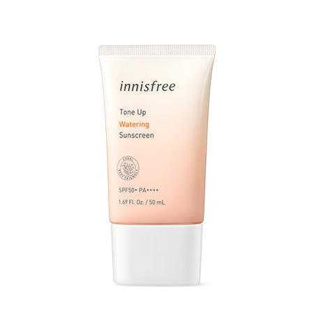 INNISFREE Tone-Up Fényvédő Krém - Watering (SPF50+ PA++++)