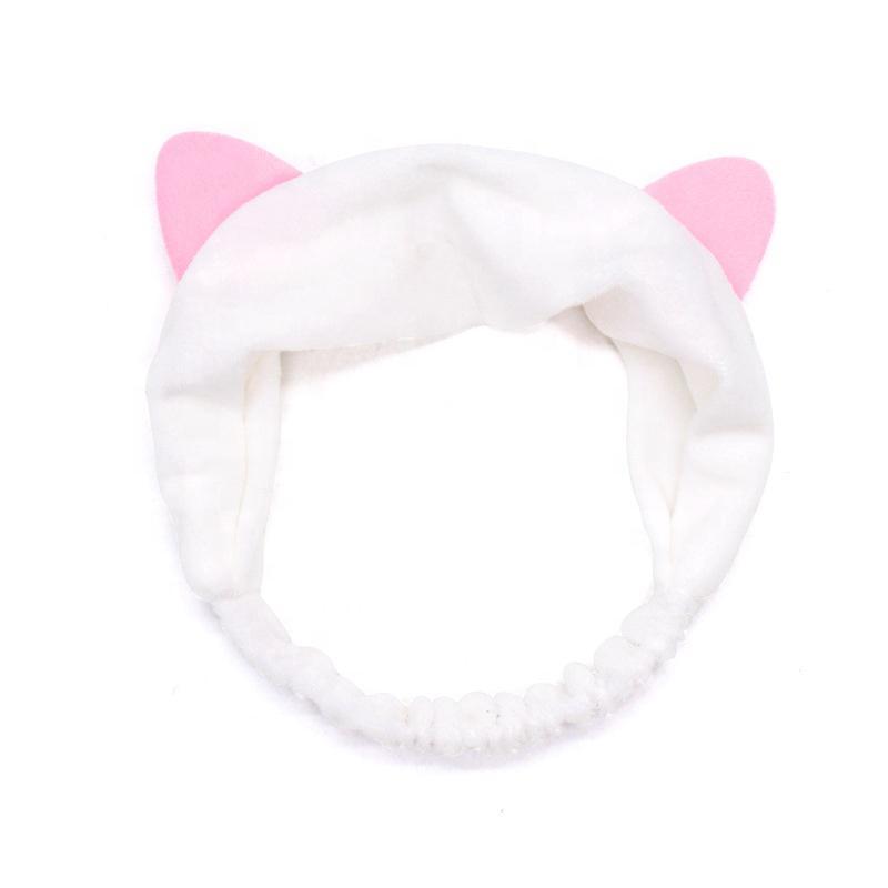 Macskafüles Kozmetikai Hajpánt - Fehér