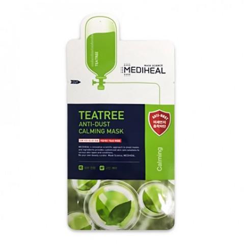 MEDIHEAL Anti Dust Arcmaszk - Teafa (Nyugtató) 24ml