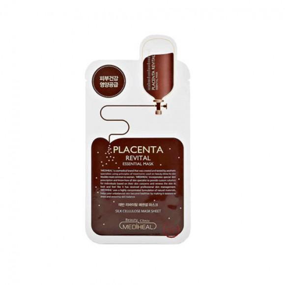 MEDIHEAL Esszenciális Arcmaszk - Placenta Revital 24ml