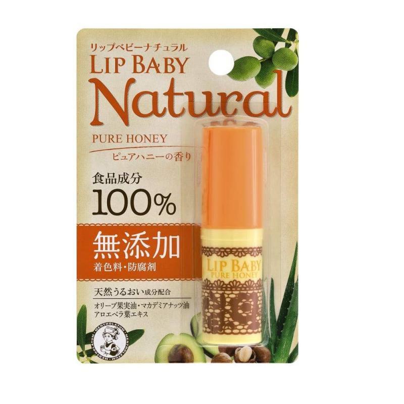 MENTHOLATUM Lip Baby Natural Ajakbalzsam - Pure Honey
