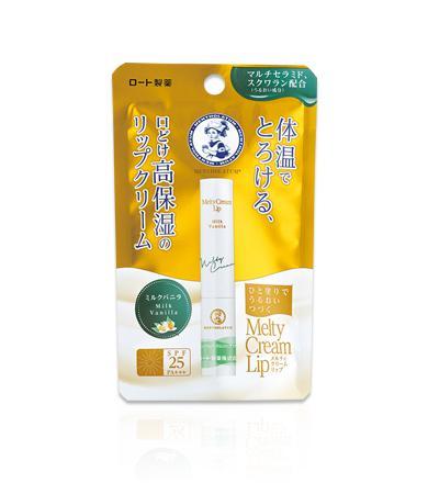 MENTHOLATUM Melty Cream Lip Ajakbalzsam - Milk Vanilla SPF25 PA+++