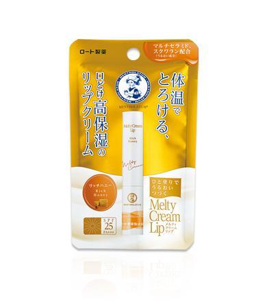 MENTHOLATUM Melty Cream Lip Ajakbalzsam - Rich Honey SPF25 PA+++