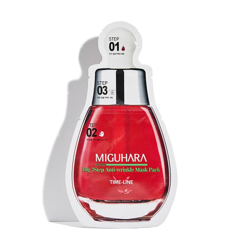 MIGUHARA Big 3 Step Arcmaszk - Anti-Wrinkle