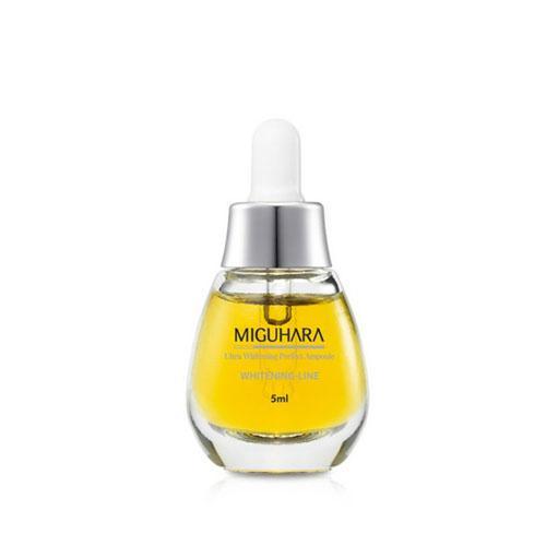 MIGUHARA Ultra Whitening Perfect Ampoule Szérum mini 5ml