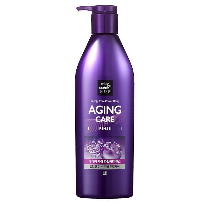 MISE EN SCENE Aging Care Collagen - Hajbalzsam (vékonyszálú hajra)  680ml