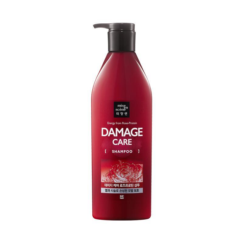 MISE EN SCENE Damage Care Rose Protein Sampon (sérült hajra) 680ml