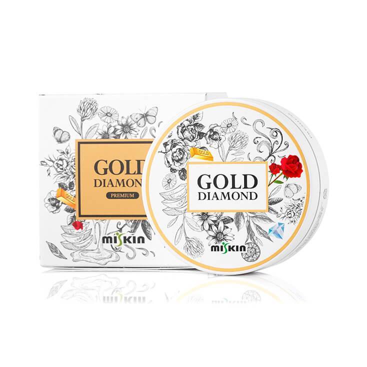 MISKIN Gold Diamond Hydro Gel Szem Maszk - Rose Gold (60db)