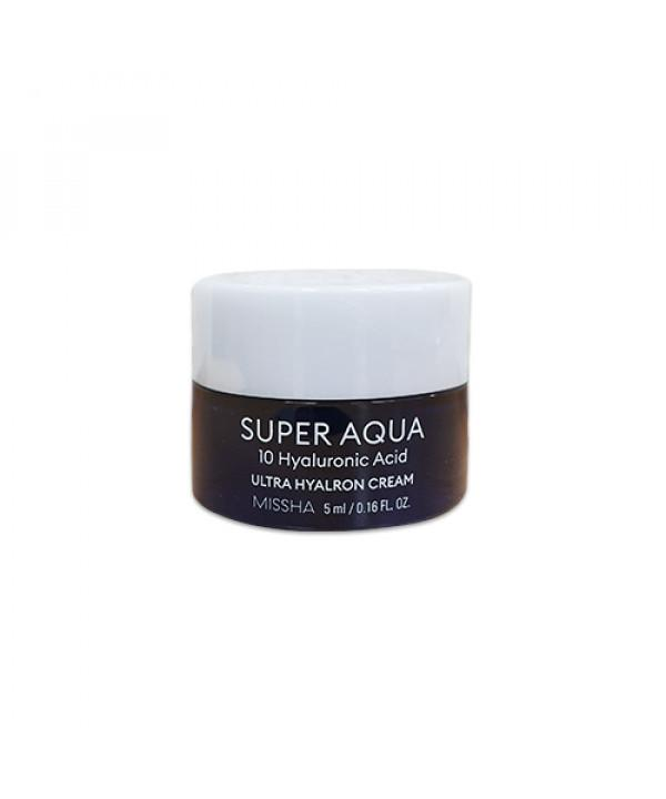 MISSHA Super Aqua Ultra Hyalron Arckrém 5ml termékminta