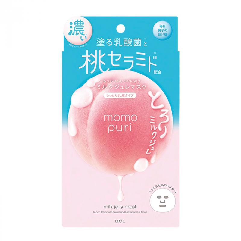 MOMO PURI Peach Milk Jelly Arcmaszk 22ml