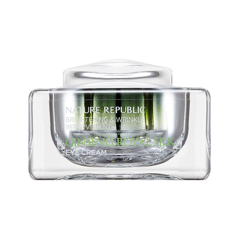 NATURE REPUBLIC Ginseng Royal Silk Szemkörnyék Krém 25ml + Eye Roller
