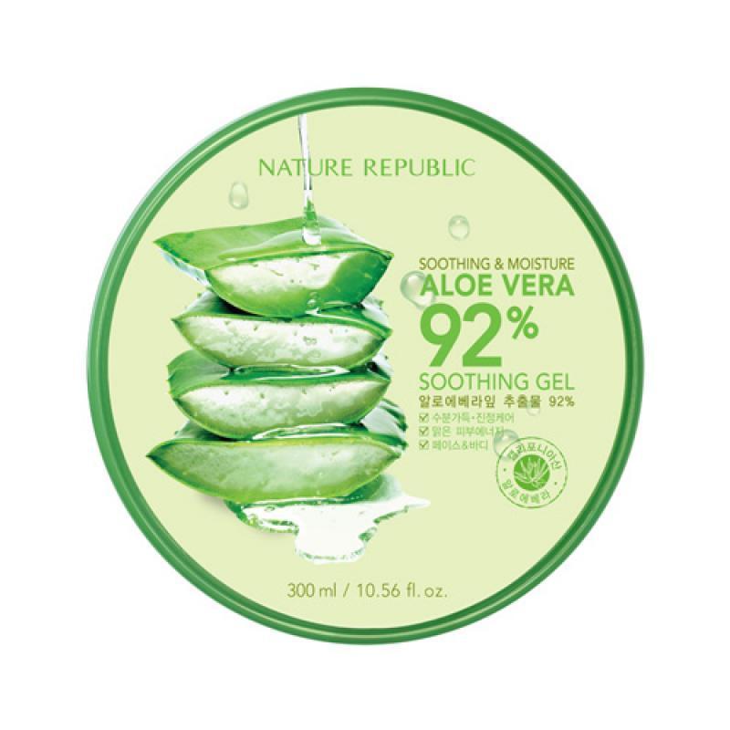 NATURE REPUBLIC Soothing & Moisture Aloe Vera 92% Gél 300ml