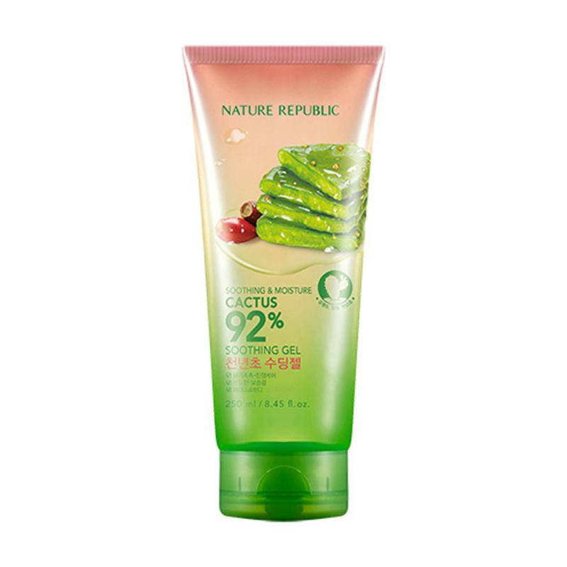 NATURE REPUBLIC Soothing Moisture Cactus 92% Soothing Gél 250ml