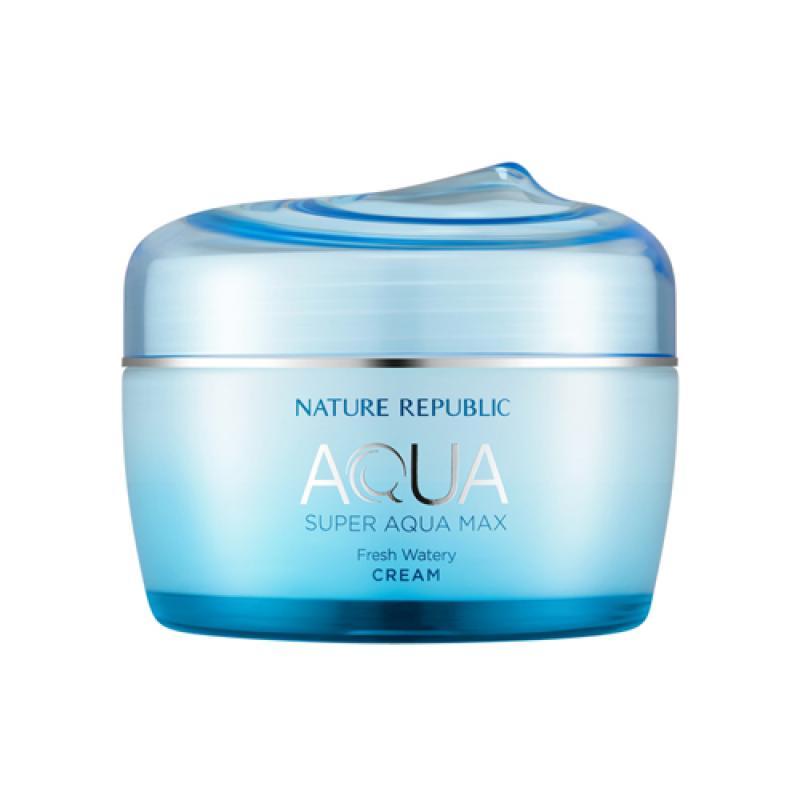 NATURE REPUBLIC Super Aqua Max Fresh Watery Arckrém (zsíros bőrre) 80ml