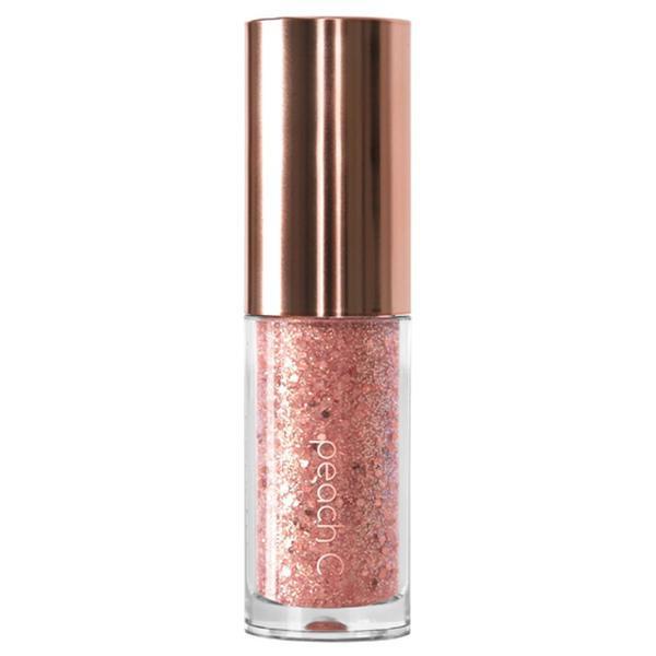 PEACH C Champagne Eye Glitter #03 Rose Coral