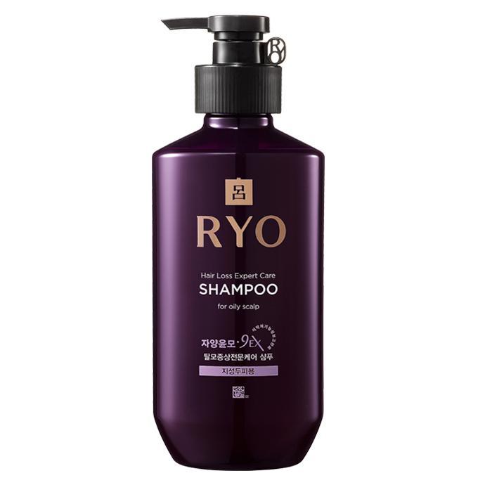 RYO Hair Loss Expert Care Sampon - Zsíros Fejbőrre 400ml