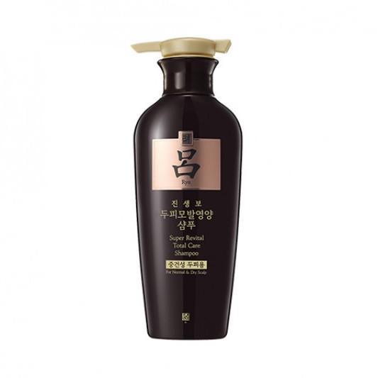 RYO Jinsaengbo Super Revital Total Care - Sampon (fejbőr ápolás, normál és száraz fejbőrre) 400ml
