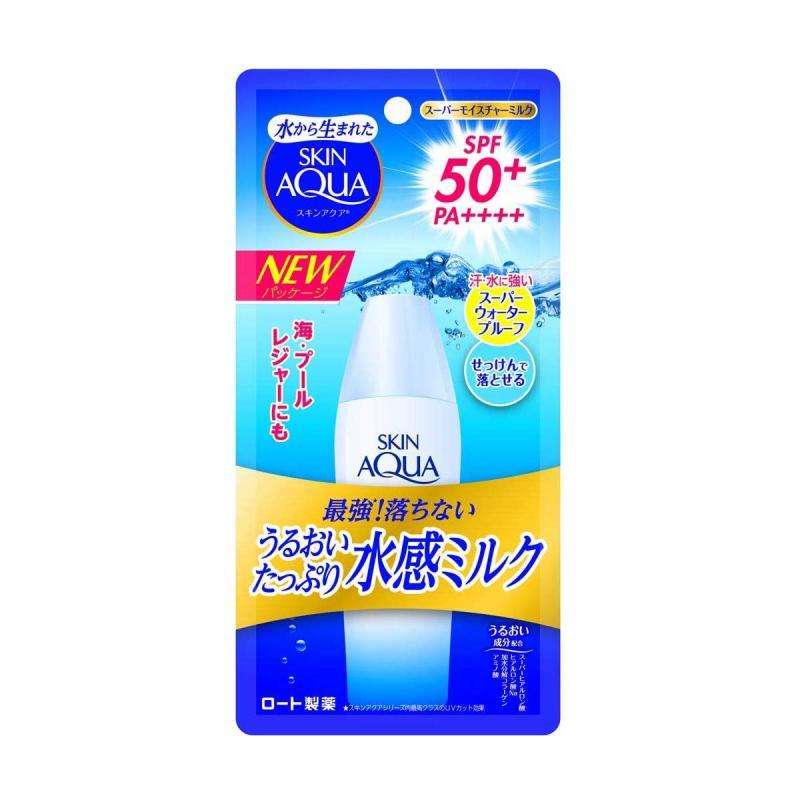 SKIN AQUA UV Super Moisture - Fényvédő Tej 40ml SPF50+ PA++++