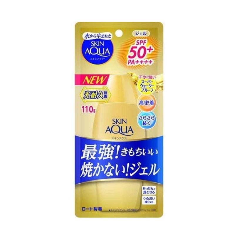 SKIN AQUA UV Super Moisture Gold - Fényvédő Gél 110ml SPF50+ PA++++