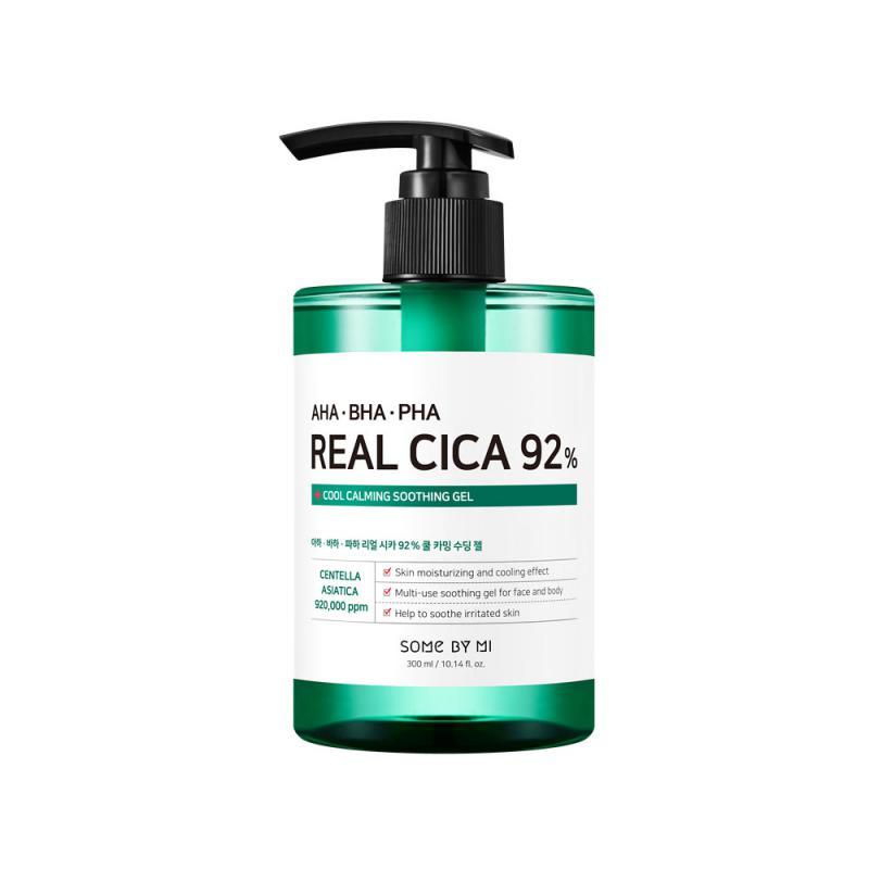 SOME BY MI AHA-BHA-PHA Real Cica 92% Cool Calming Soothing Gél Arckrém 300g