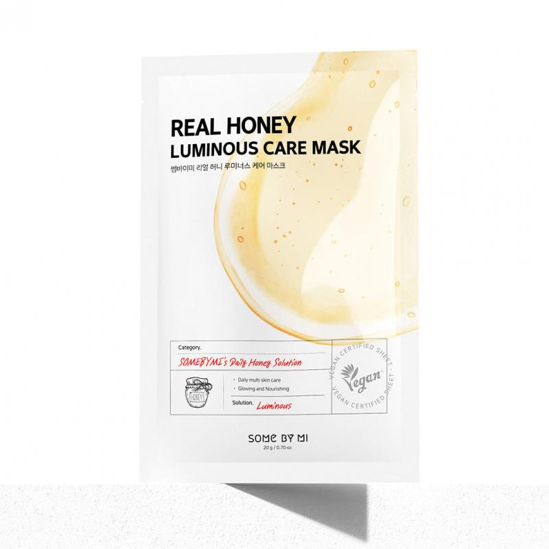 SOME BY MI Real Honey Luminous Care Arcmaszk 20g