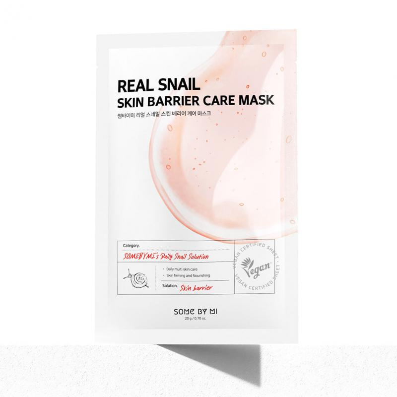 SOME BY MI Real Snail Skin Barrier Care Arcmaszk 20g