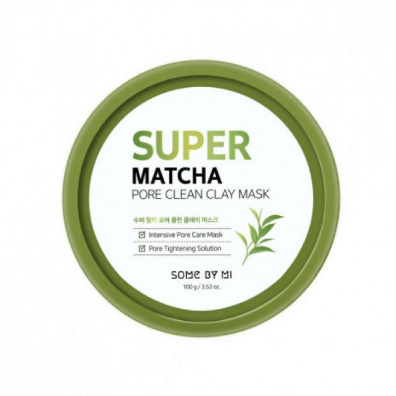 SOME BY MI Super Matcha Pore Clean Agyag Arcmaszk 100g