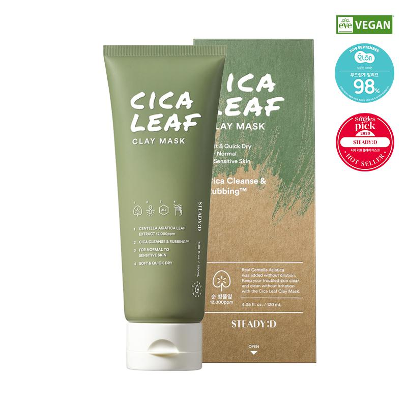 STEADY:D Cica Leaf Agyag Maszk 120ml