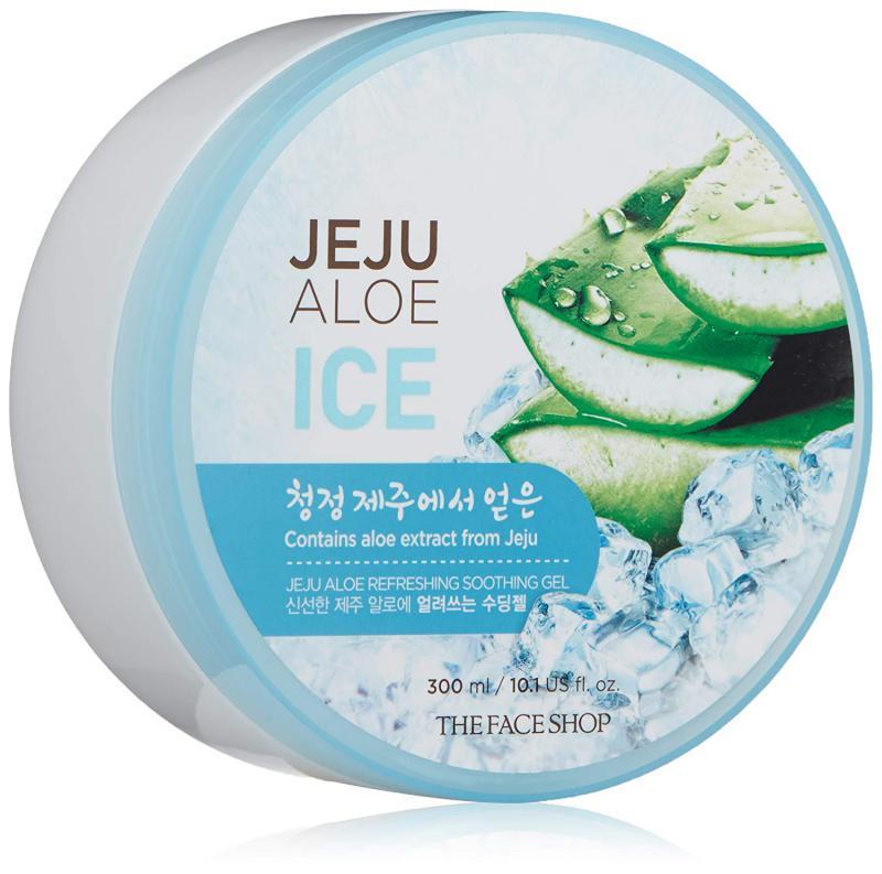 THE FACE SHOP Jeju Aloe Ice Gél 300ml