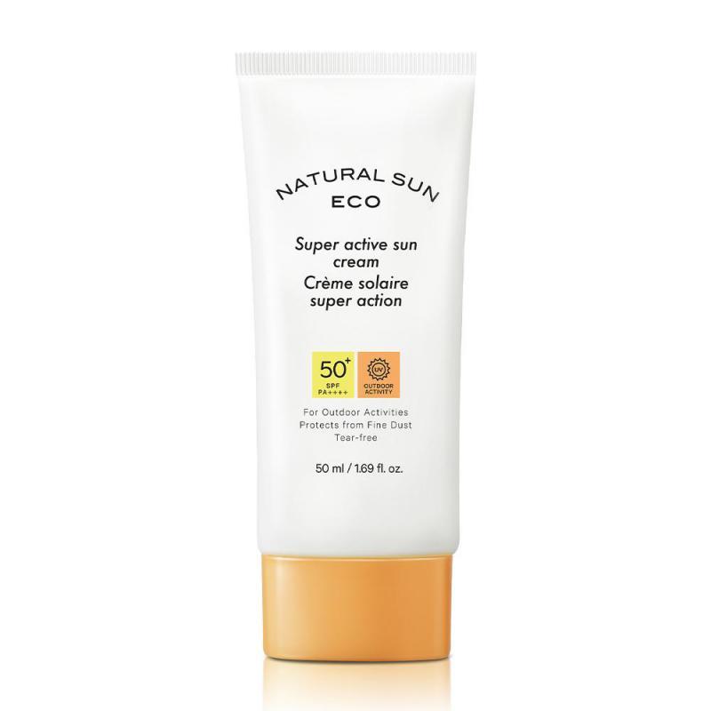 THE FACE SHOP Natural Sun Eco - Super Active Fényvédő 50ml (SPF 50+ PA++++)