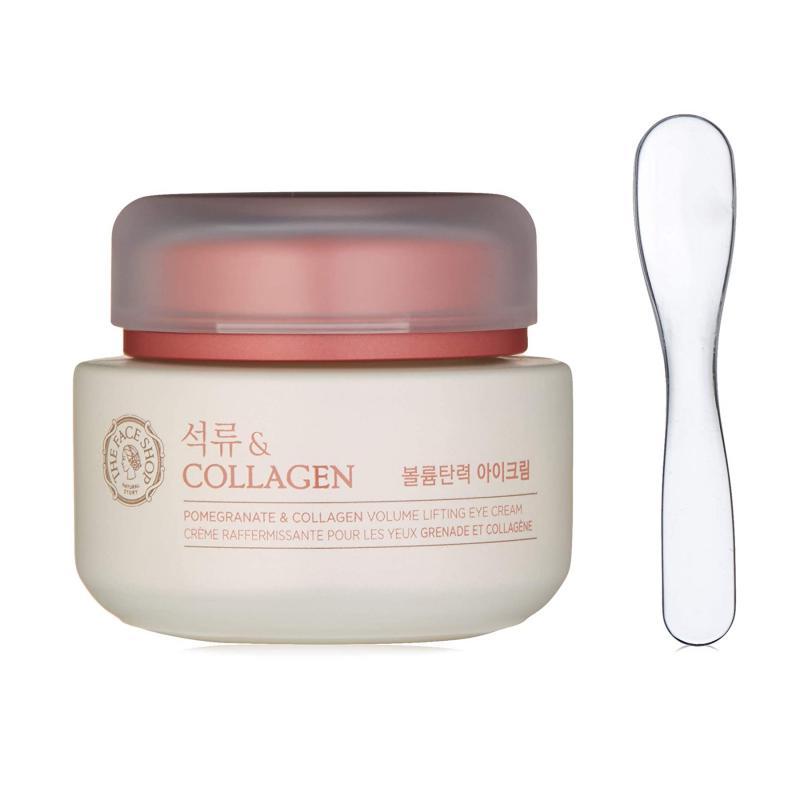 THE FACE SHOP Pomegranate & Collagen Volume Lifting - Szemkörnyék Krém 50ml