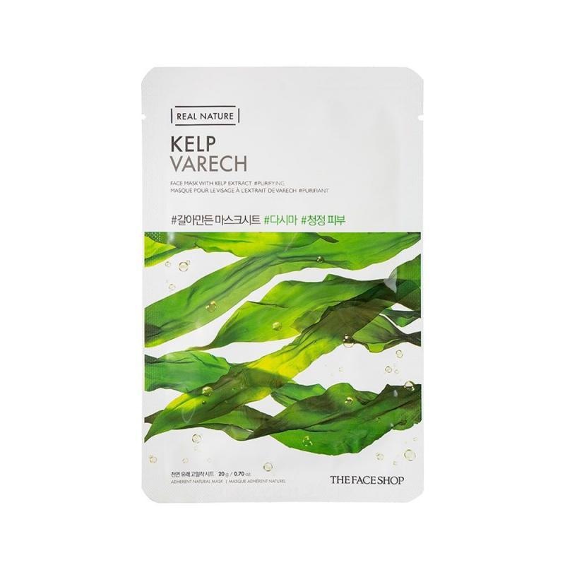 THE FACE SHOP Real Nature Arcmaszk - Hínár / Kelp (tisztító) 20g