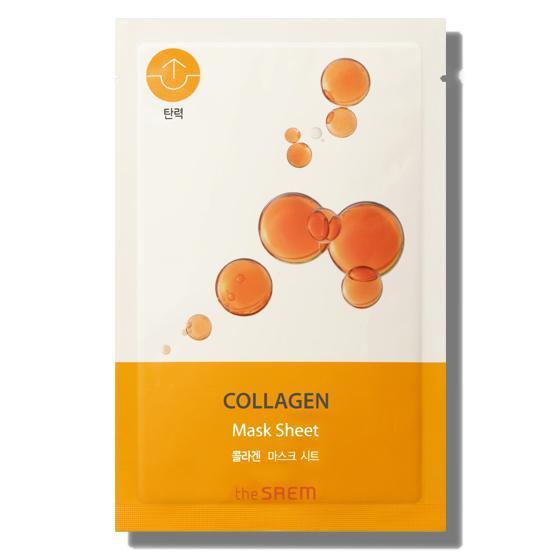 THE SAEM Bio Solution Arcmaszk - Collagen (feszesítő) 20g