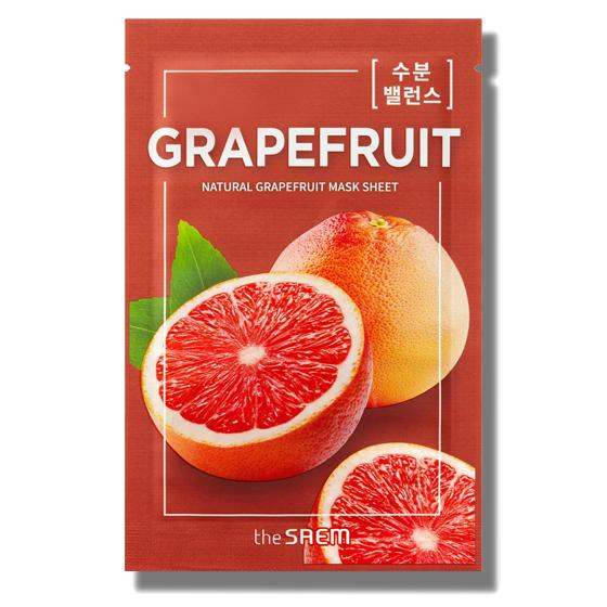 THE SAEM Natural Skin Fit Arcmaszk - Grapefruit 21ml