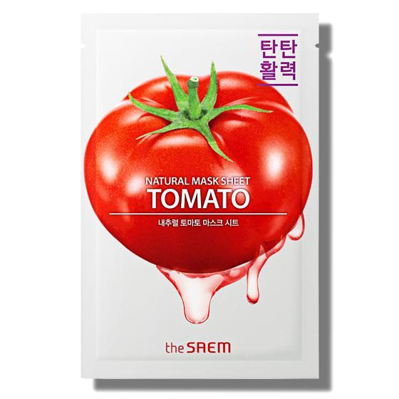THE SAEM Natural Skin Fit Arcmaszk - Tomato 21ml