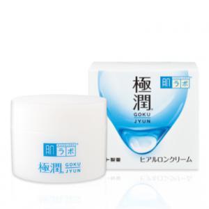 HADA LABO Gokujyun Hyaluronic Acid - Hidratáló Arckrém 50g