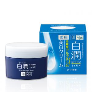 HADA LABO Shirojyun Whitening - Hidratáló Arckrém 50g